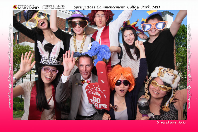 Graduation Party Photo Booth for University School of Business Spring 2013 Commencement