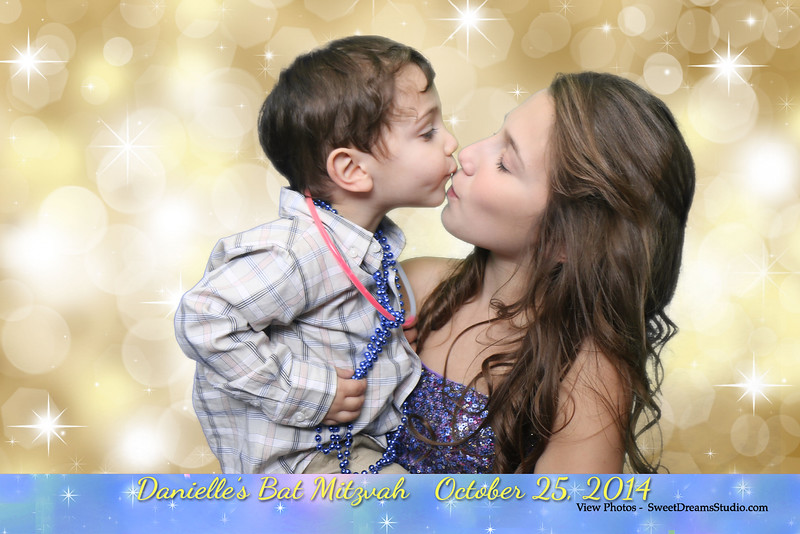Photo Booth for Danielle's Bat Mitzvah Party