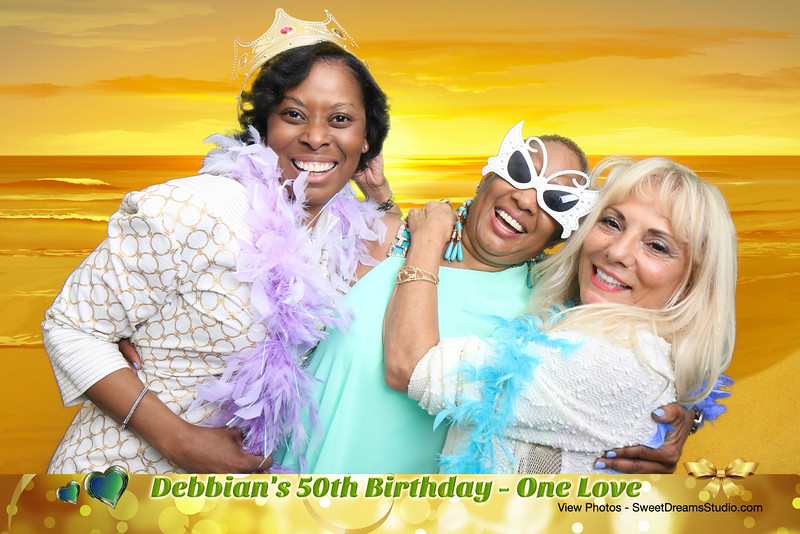 Photo Booth for Debbian's 50th Birthday Party in Bergen NJ
