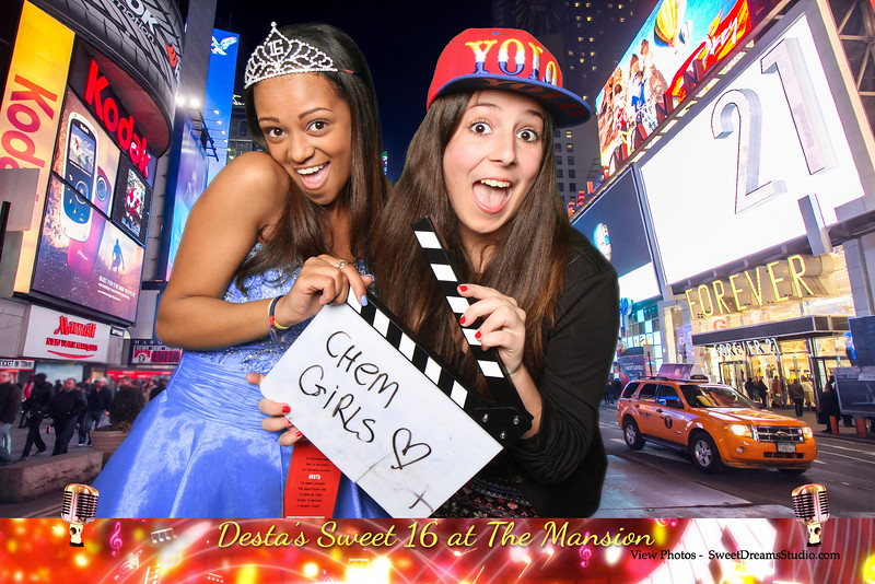 sweet 16 photography booth nj ny