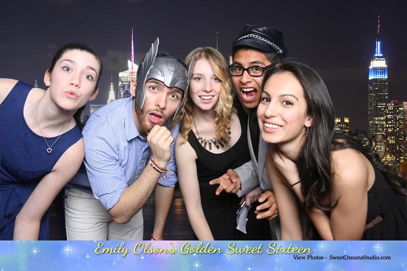 photo booth sweet 16 party nj ny