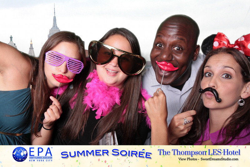 photo booth Thompson LES Hotel NY