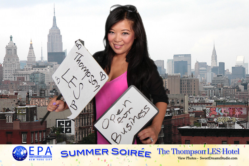 photo booth rental Thompson Hotel NY