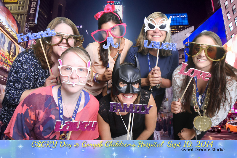 photo booth goryeb children hospital NJ
