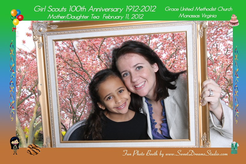 photo booth girl scouts anniversary