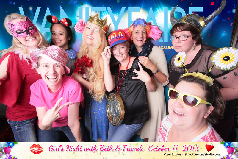 photo booth girls party