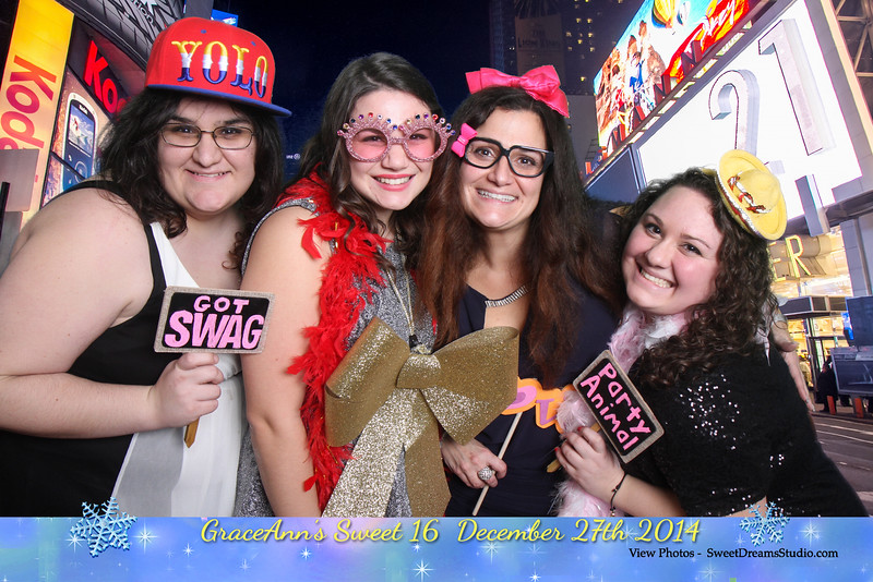 ny sweet 16 birthday party photography