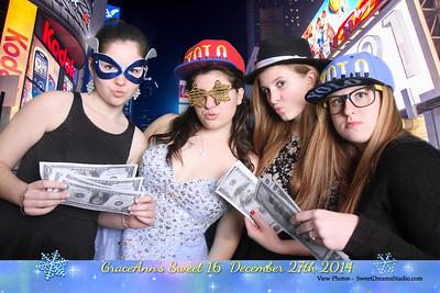 GraceAnn Sweet 16 Birthday Party