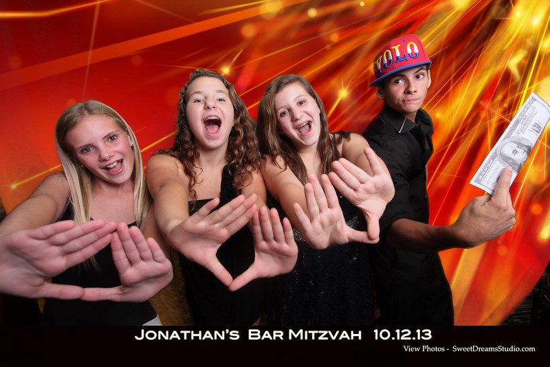 photo booth bar mitzvah party
