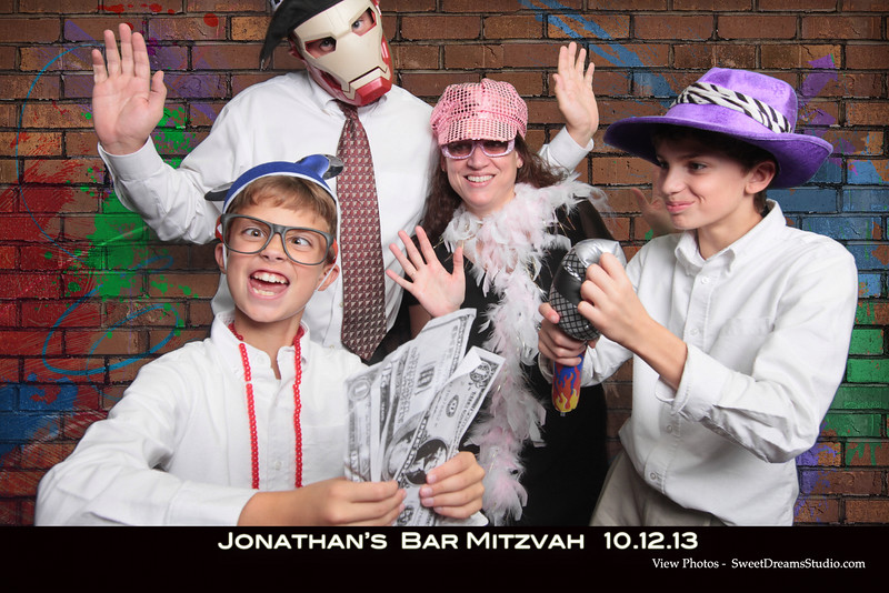 bar mitzvah photo booth party