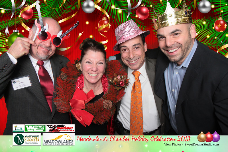Sweet Dreams Photo Booth for Meadowlands Chamber Holiday Party 2013