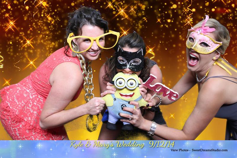 minions photo booth wedding party NJ NY