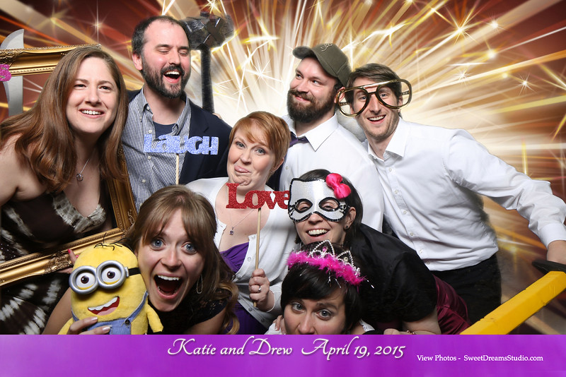 minions photo booth party