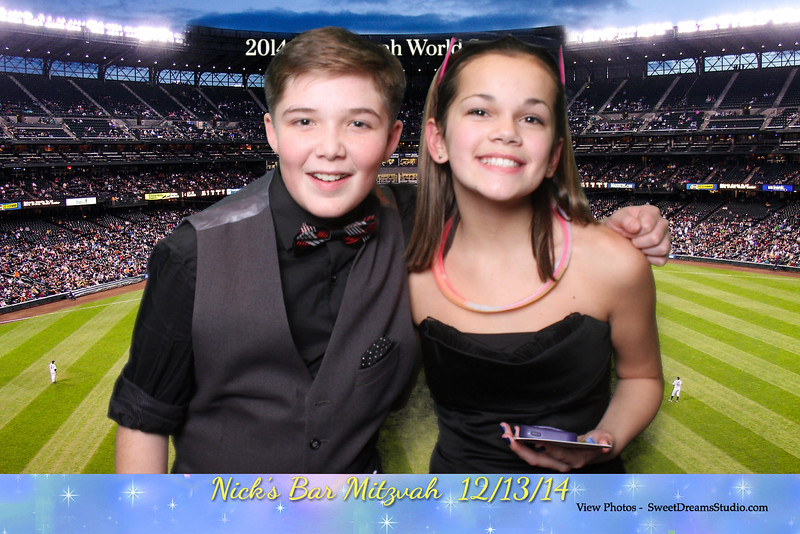 Photo Booth Entertainment for Nicholas Bar Mitzvah Party