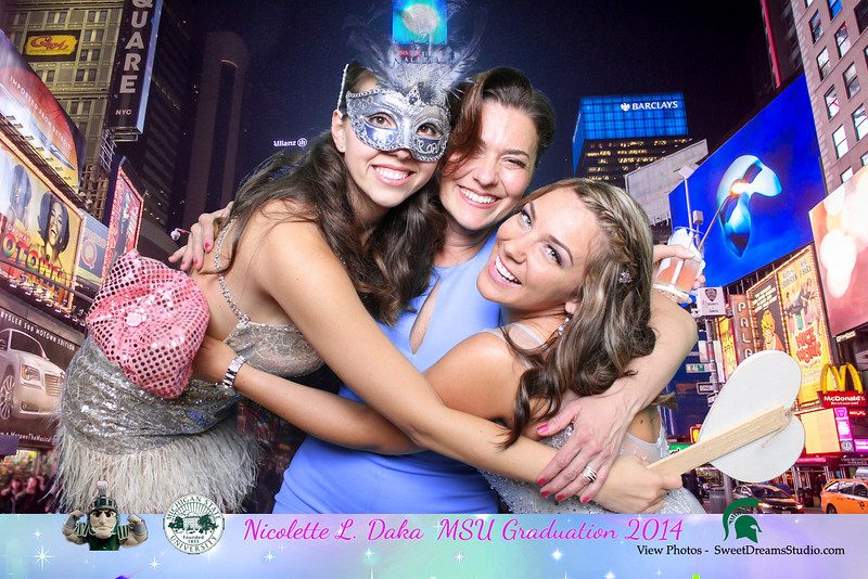 Photo Booth for Nicolette School Graduation Party Eastwood Manor New York