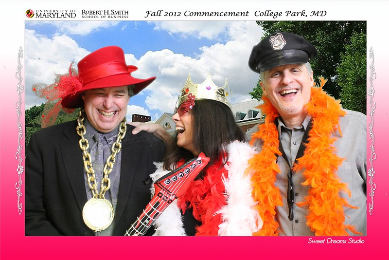 Photo Booth Business School Fall Graduation University