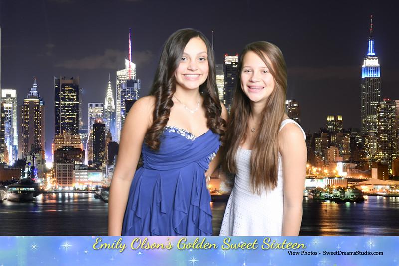 photography booth NY Sweet 16 birthday