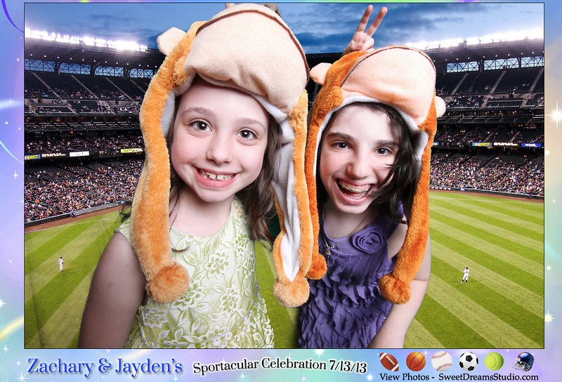 Photo Booth Print Designs for Zachary and Jayden's Children's Birthday Party NJ NY