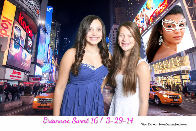 NY sweet 16 photography booth surf club sound