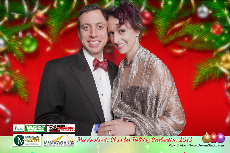 Sweet Dreams Photo Booth for Meadowland Chamber Holiday Party 2013 at Meadowlands Ractrack in East Rutherford NJ