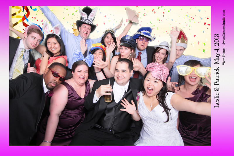Leslie and Patrick's Wedding Photo Booth Rental NY NJ Manhattan