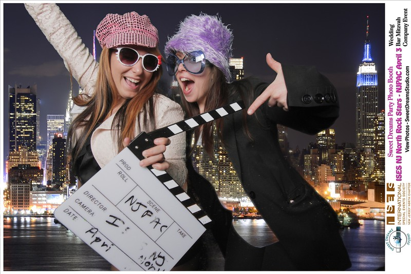 Open Air Photo Booth Rental for ISES NJ North Event Planners NJPAC Nico Kitchen Bar