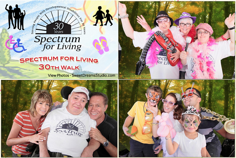 Photo Booth for Spectrum for Living 30th Walk in Paramus Bergen County NJ
