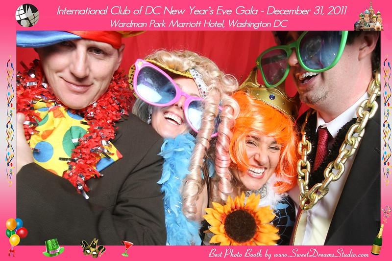 Photo Booth New Years Eve Party Marriott NJ NYC