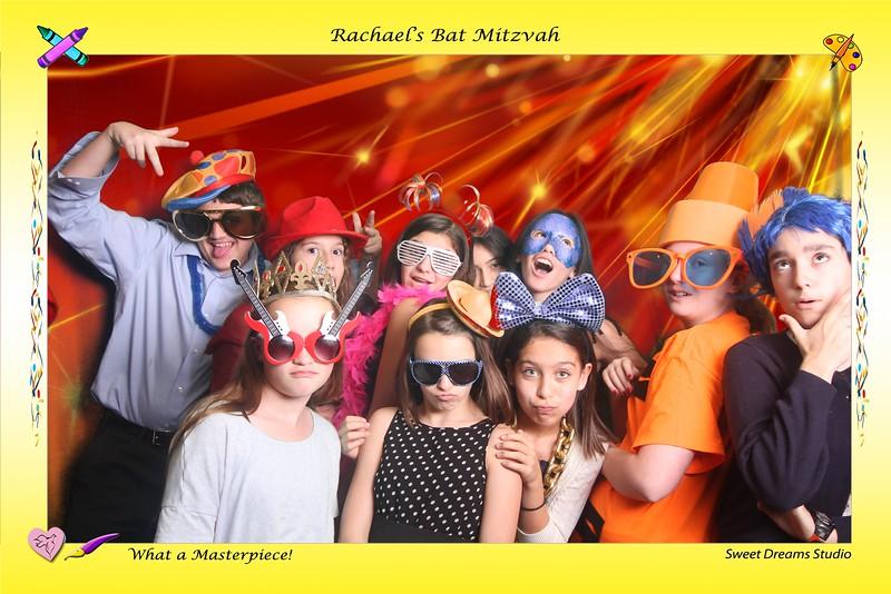Rachael Photo Booth Bat Mitzvah Country Club NJ NY