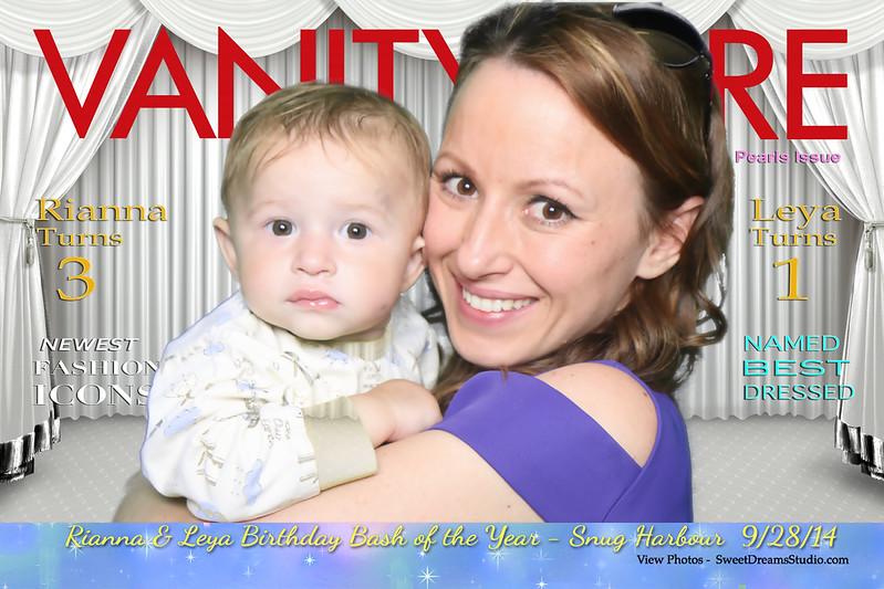 Photo Booth for Rianna & Leya Kids Birthday Party at Snug Harbor Staten Island NY