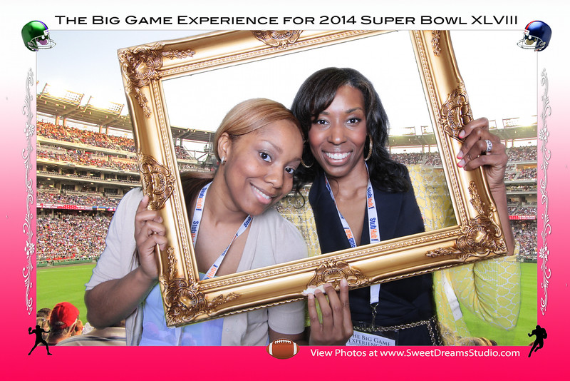 Super Bowl entertainment photo booth rental NY Manhattan