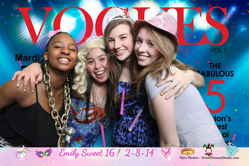 photo booth sweet 16 birthday party NY NJ