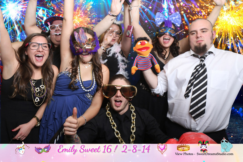 photo booth sweet 16 NY