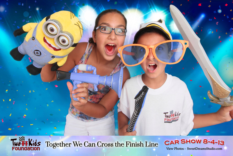 photo booth rental Two Kids Foundation