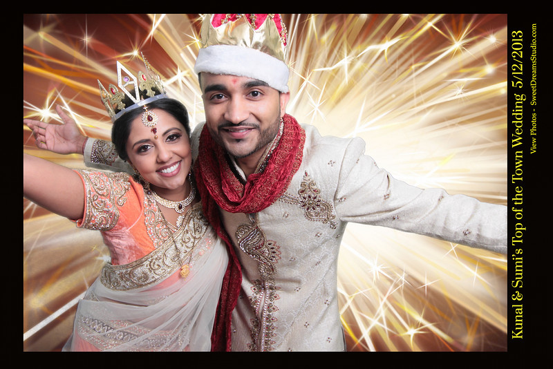 Kunal and Sumi's Indian Wedding Photo Booth Rental NY NJ