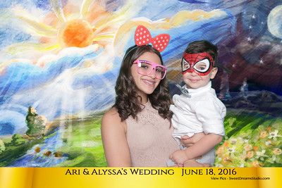 Alyssa Ari Wedding