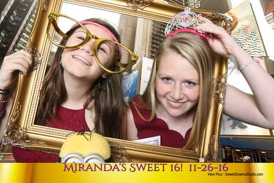 Miranda Sweet 16