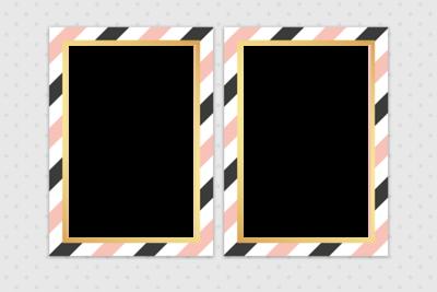 2V Gray dots