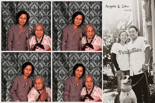 Angela & John Photo Booth