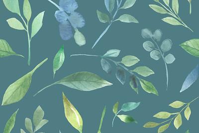 Seamless-Leaves-Light-4