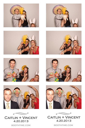 Caitlin & Vincent Photo Booth