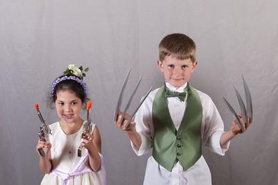 Delgado and Harding Wedding Booth
