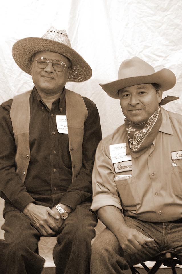 Syed Rasheed and Eddie Mejia