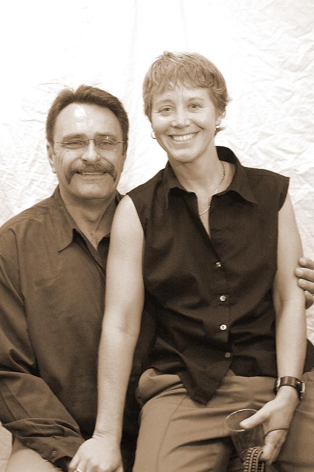Bill Bayle and Deb Bridenstine