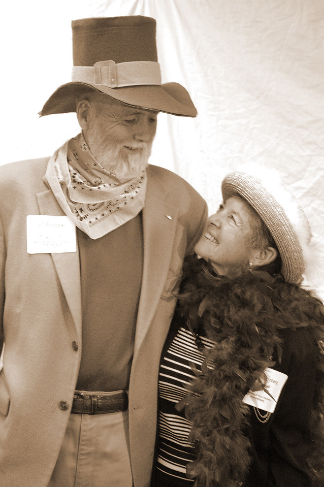 Ed Babcock and Gloria Slosberg