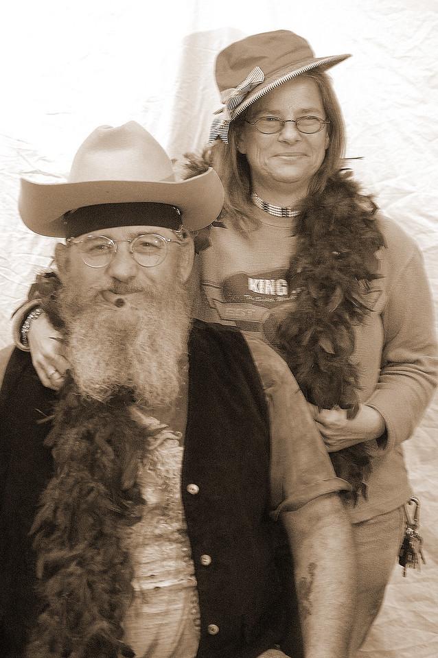 Zoe Hamilton and Terry Smith