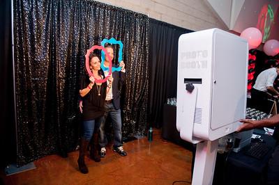 Fun in the photo booth!