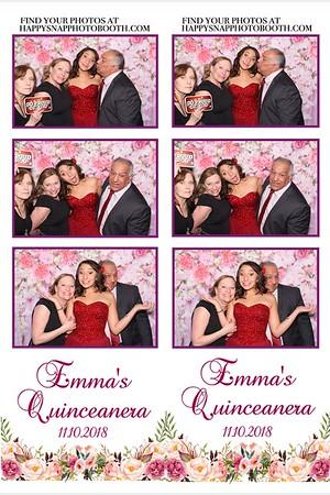 Emma's Quinceanera 11/10/18