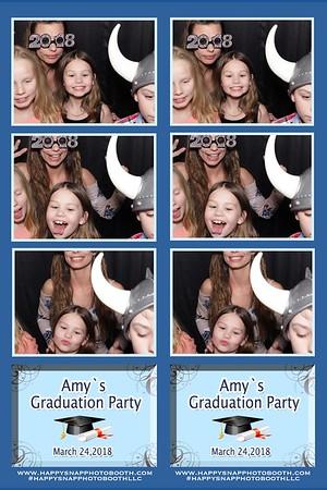 Amy's Graduation party