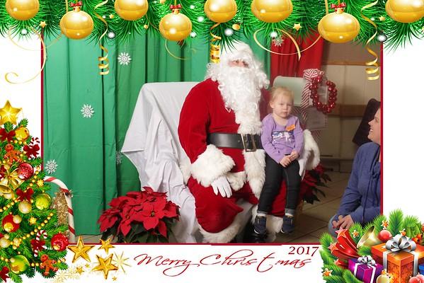 Huron Sportmans's Santa Photos 12/10/17